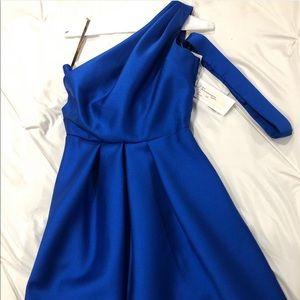 New ⭐️ Lela Rose One Shoulder Cocktail Dress!